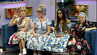 Rachel Johnson, Amanda Barrie, Malika Haqq and Ann Widdecombe.<br /> Celebrity Big Brother 2018 - Day 8<br /> *Editorial Use Only*<br /> CAP/KFS<br /> Image supplied by Capital Pictures