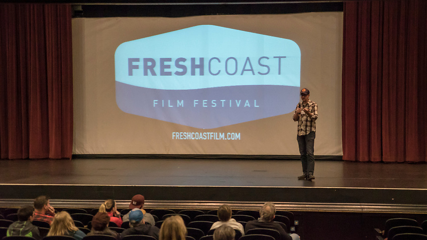 Fresh Coast FIlm Festival in Marquette, Michigan.