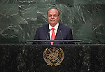Address by His Excellency Abdrabuh Mansour Hadi Mansour, President of the Republic of Yemen