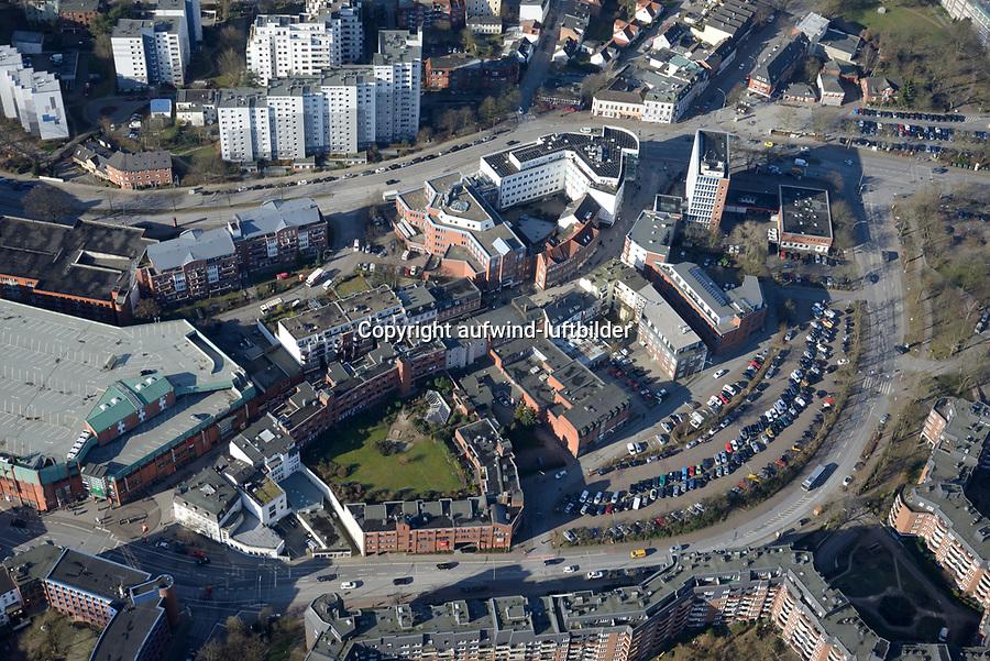 Lohbruegger Markt, Ludwig Rosenberg Ring: EUROPA, DEUTSCHLAND, HAMBURG, (EUROPE, GERMANY), 06.02.2018: Lohbruegger Markt, Ludwig Rosenberg Ring