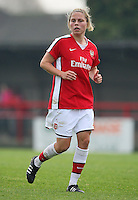 Gilly Flaherty of Arsenal - Arsenal Ladies vs Sparta Prague - UEFA Women's Champions League at Boreham Wood FC - 11/11/09 - MANDATORY CREDIT: Gavin Ellis/TGSPHOTO - Self billing applies where appropriate - Tel: 0845 094 6026