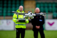 2019 06 13 Sky Mantis Police Drone Launch, Caerphilly RFC, Wales, UK.