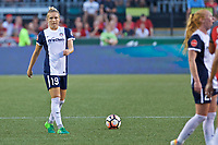 Portland, OR - Saturday July 22, 2017: Kristie Mewis during a regular season National Women's Soccer League (NWSL) match between the Portland Thorns FC and the Washington Spirit at Providence Park.