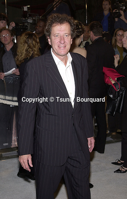 Geoffrey Rush  arriving at the premiere of Blow  at the Chinese Theatre in Los Angeles 3/29/2001   © Tsuni          -            RushGeoffrey01B.jpg