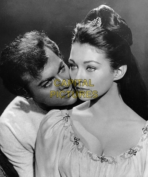 Tony Curtis & Christine Kaufmann.in Taras Bulba.*Filmstill - Editorial Use Only*.CAP/PLF.Supplied by Capital Pictures.