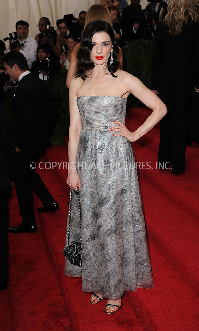 WWW.ACEPIXS.COM<br /> <br /> May 4 2015, New York City<br /> <br /> Rachel Weisz arriving at the Costume Institute Benefit Gala celebrating the opening of China: Through the Looking Glass at the Metropolitan Museum of Art on May 4 2015 in New York City.<br /> <br /> <br /> Please byline: Kristin Callahan/ACE Pictures<br /> <br /> ACE Pictures, Inc.<br /> www.acepixs.com, Email: info@acepixs.com<br /> Tel: 646 769 0430