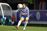 Fran Kirby of Chelsea Ladies warms up ahead of Chelsea Women vs Manchester City Women, FA Women's Super League FA WSL1 Football at Kingsmeadow on 9th September 2018