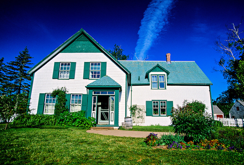Green Gables House, Cavendish, Prince Edward Island, Canada