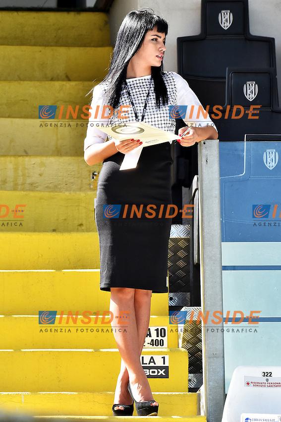 Hostess <br /> Cesena 28-09-2014 Stadio Dino Manuzzi, Football Calcio Serie A Cesena - Milan. Foto Andrea Staccioli / Insidefoto
