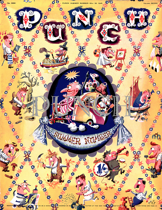 Punch Summer Number (front cover, 30 May 1949)