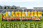 South Kerry team before the Semi finals of the Kerry Senior GAA Football Championship between Dr Crokes and South Kerry at Fitzgerald Stadium on Sunday.