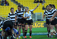 Action from the Wellington Rugby Rebecca Liua'ana Trophy women's rugby match between Oriental-Rongotai and Northern United at Westpac Stadium in Wellington, New Zealand on Friday, 17 May 2019. Photo: Dave Lintott / lintottphoto.co.nz