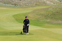 Tom Sloman (Taunton & Pickeridge) on the 4th during Round 1 of the The Amateur Championship 2019 at The Island Golf Club, Co. Dublin on Monday 17th June 2019.<br /> Picture:  Thos Caffrey / Golffile<br /> <br /> All photo usage must carry mandatory copyright credit (© Golffile | Thos Caffrey)