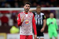 Michael Timlin of Stevenage during Stevenage vs Grimsby Town, Sky Bet EFL League 2 Football at the Lamex Stadium on 12th October 2019
