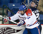 Josh Holmstrom (Lowell - 12), Matt Campanale (UNH - 24) - The visiting University of New Hampshire Wildcats defeated the University of Massachusetts-Lowell River Hawks 3-0 on Thursday, December 2, 2010, at Tsongas Arena in Lowell, Massachusetts.