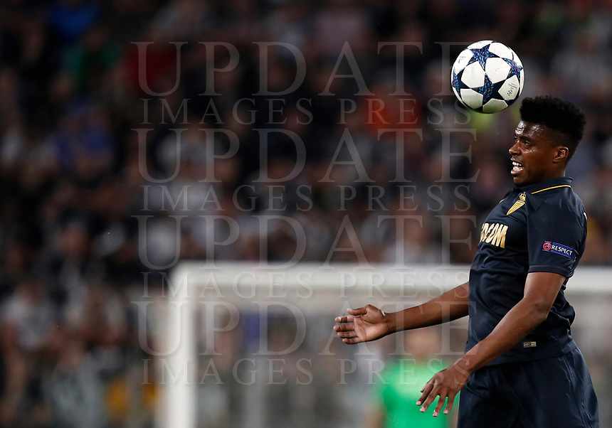 Football Soccer: UEFA Champions League semifinal second leg Juventus - Monaco, Juventus stadium, Turin, Italy,  May 9, 2017. <br /> Monaco's Jemerson in action during the Uefa Champions League football match between Juventus and Monaco at Juventus stadium, on May 9, 2017.<br /> UPDATE IMAGES PRESS/Isabella Bonotto