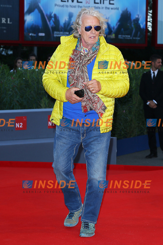 VENICE, ITALY - SEPTEMBER 09: Rutger Hauer attends '11 Minutes' Premiere during 72nd Venice Film Festival at Palazzo Del Cinema on September 9, 2015 in Venice, Italy. (Mark Cape/insidefoto)