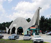 Dinosaur shaped building in Spring Hill Florida