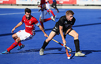 Sam Lane. Pro League Hockey, Vantage Blacksticks v Great Britain. Nga Puna Wai Hockey Stadium, Christchurch, New Zealand. Friday 8th February 2019. Photo: Simon Watts/Hockey NZ