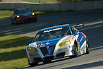 20 June 2008: The PR1 Motorsports Pontiac GXP.R driven by Mike Forest (CAN) and Patrick Barrett (USA) at the 2008 Rolex Sports Car Series Emco Gears Classic, Mid-Ohio Sports Car Course, Lexington, Ohio, USA.