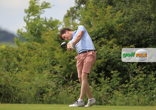 Richard Knightly (The Royal Dublin) on the 7th tee during Round 4 of the 2016 Connacht Strokeplay Championship at Athlone Golf Club on Sunday 12th June 2016.<br /> Picture:  Golffile | Thos Caffrey