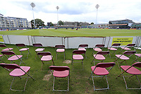 General view of the ground ahead of Gloucestershire vs Essex Eagles, NatWest T20 Blast Cricket at The Brightside Ground on 13th August 2017