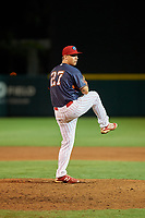 Clearwater Threshers pitcher Jeff Singer (27) during the Florida State League All-Star Game on June 17, 2017 at Joker Marchant Stadium in Lakeland, Florida.  FSL North All-Stars defeated the FSL South All-Stars  5-2.  (Mike Janes/Four Seam Images)