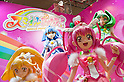 June 14th, 2012: Tokyo, Japan - Life size figures of SMILE PRECURE are displayed  during the International Tokyo Toy Show 2012 at Tokyo Big Sight in Tokyo, Japan. This event lasts from June 14th to 17th.  (Photo by Yumeto Yamazaki/AFLO)