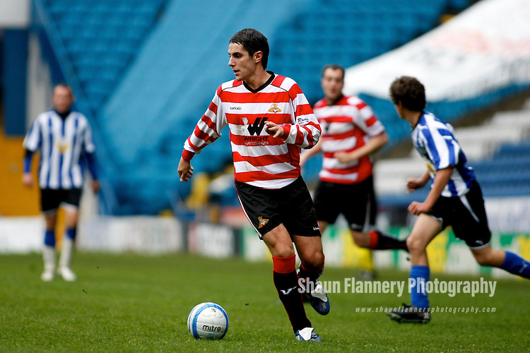 Pix: Shaun Flannery/shaunflanneryphotography.com..COPYRIGHT PICTURE>>SHAUN FLANNERY>01302-570814>>07778315553>>..5th May 2010...........Frank Haslam Milan (FHM) charity football match at Sheffield Wednesday's Hillsborough ground.