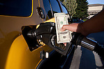 Paolo Diego Salcido photographer of San Francisco creates images  showing fuels costs and economic inflation