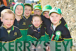 Farmers of the future Kevin, Tommy and Jonathan Bowler, TJ Leader, Conor Hobbs, Michael Mullane and Shane Warren were wearing the green for the parade in Killarney on Tuesday.....