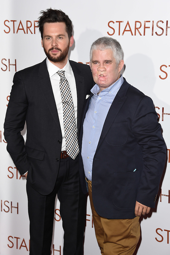 """Tom Riley and Tom Ray<br /> at the """"Starfish"""" UK premiere, Curzon Mayfair, London.<br /> <br /> <br /> ©Ash Knotek  D3190  27/10/2016"""