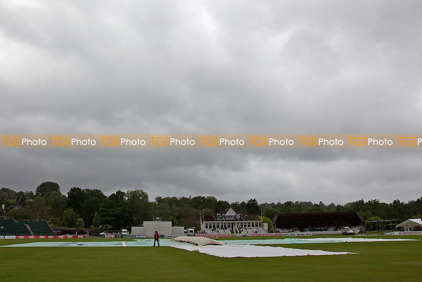The scene at the Nevill Ground - Kent CCC vs Hampshire CCC - LV County Championship Division Two Cricket at The Nevill Ground, Tunbridge Wells - 08/06/12 - MANDATORY CREDIT: Ray Lawrence/TGSPHOTO - Self billing applies where appropriate - 0845 094 6026 - contact@tgsphoto.co.uk - NO UNPAID USE.