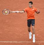 Novak Djokovic (SRB) defeats Jarko Nieminen (FINA) 6-2, 7-5, 6-2