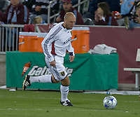 Real Salt Lake forward Clint Mathis. Real Salt Lake earned a tied versus the Colorado Rapids securing a place in the postseason. Dick's Sporting Goods Park, Denver, Colorado, October, 25, 2008. Photo by Trent Davol/isiphotos.com