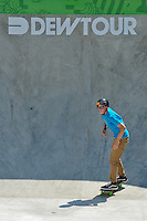 16 August, 2012:  Skyler Siljeg competes in the Skateboard Bowl Semi-final at the Pantech Beach Championships in Ocean City, MD