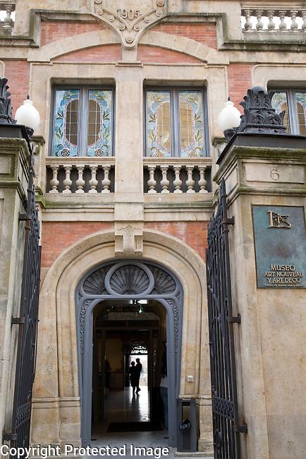 Casa Lis, Art Nouveau and Art Deco Museum, Salamanca, Castile and Leon, Spain