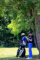 Gary Hurley (IRE) during the first round of the Lyoness Open powered by Organic+ played at Diamond Country Club, Atzenbrugg, Austria. 8-11 June 2017.<br /> 08/06/2017.<br /> Picture: Golffile | Phil Inglis<br /> <br /> <br /> All photo usage must carry mandatory copyright credit (&copy; Golffile | Phil Inglis)