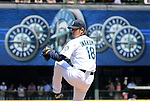 Hisashi Iwakuma (Mariners),<br /> JUNE 5, 2013 - MLB :<br /> Hisashi Iwakuma of the Seattle Mariners pitches during the baseball game against the Chicago White Sox at Safeco Field in Seattle, Washington, United States. (Photo by AFLO)