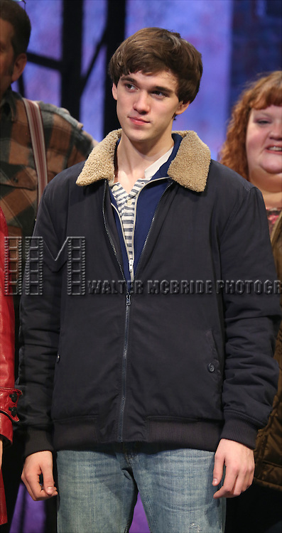 Collin Kelly-Sordelet during the Broadway Opening Night Performance Curtain Call for 'The Last Ship' at the Neil Simon Theatre on October 26, 2014 in New York City.