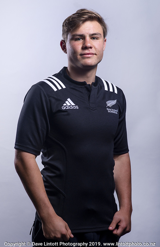 Aidan Morgan (Kings College). 2019 New Zealand Schools rugby union headshots at the Sport & Rugby Institute in Palmerston North, New Zealand on Wednesday, 25 September 2019. Photo: Dave Lintott / lintottphoto.co.nz