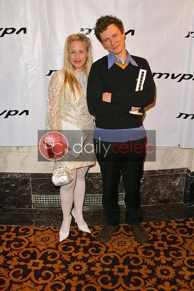 Patricia Arquette and Michel Gondry