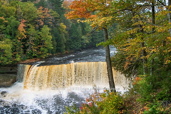 Tahquamenon Falls In The Autumn, Michigan's Upper Peninsula