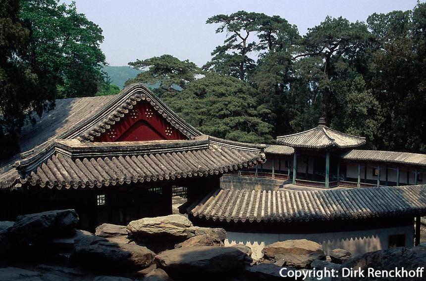 China, Peking, Xiang Shan-Park, Jian Xin Zhai