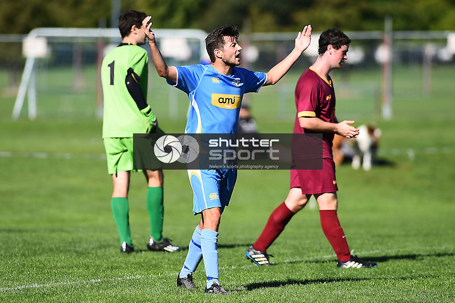 NELSON, NEW ZEALAND - April 10: Nelson Suburbs v Universities at Saxton Field on April 10, 2016 in Nelson, New Zealand. (Photo by: Chris Symes/Shuttersport Limited)