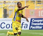 Atlético Huila conquistó su cuarta victoria como visitante del semestre (Nacional, Cortuluá, Chicó) al imponerse 2-1 a La Equidad, este sábado por la tarde en Bogotá, en partido que abrió la fecha 16 del Torneo Apertura Colombiano 2015.