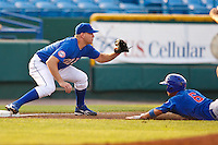 July 2nd, 2010 Scott Thorman (21) in action during MiLB play between the Iowa Cubs and the Omaha Royals. Iowa Cubs won 5-3 at Rosenblatt Stadium, Omaha Nebraska.