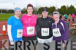 10KM RUN: Taking part in the An Riocht Lee Strand Kingdom 10km & 5Km run/walk in Castleisland on Sunday l-r:Mary Heffernan and Joan, Edwina and Pauline Evans, Keel, Castlemaine.