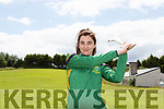 Kerry Camogie Captain Niamh Leen who is fit again after being struck down with an illness at Saturdays game In Limerick