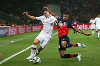 Mason Mount of Chelsea and Reinildo Mandava of Lille OSC during Lille OSC vs Chelsea, UEFA Champions League Football at Stade Pierre-Mauroy on 2nd October 2019